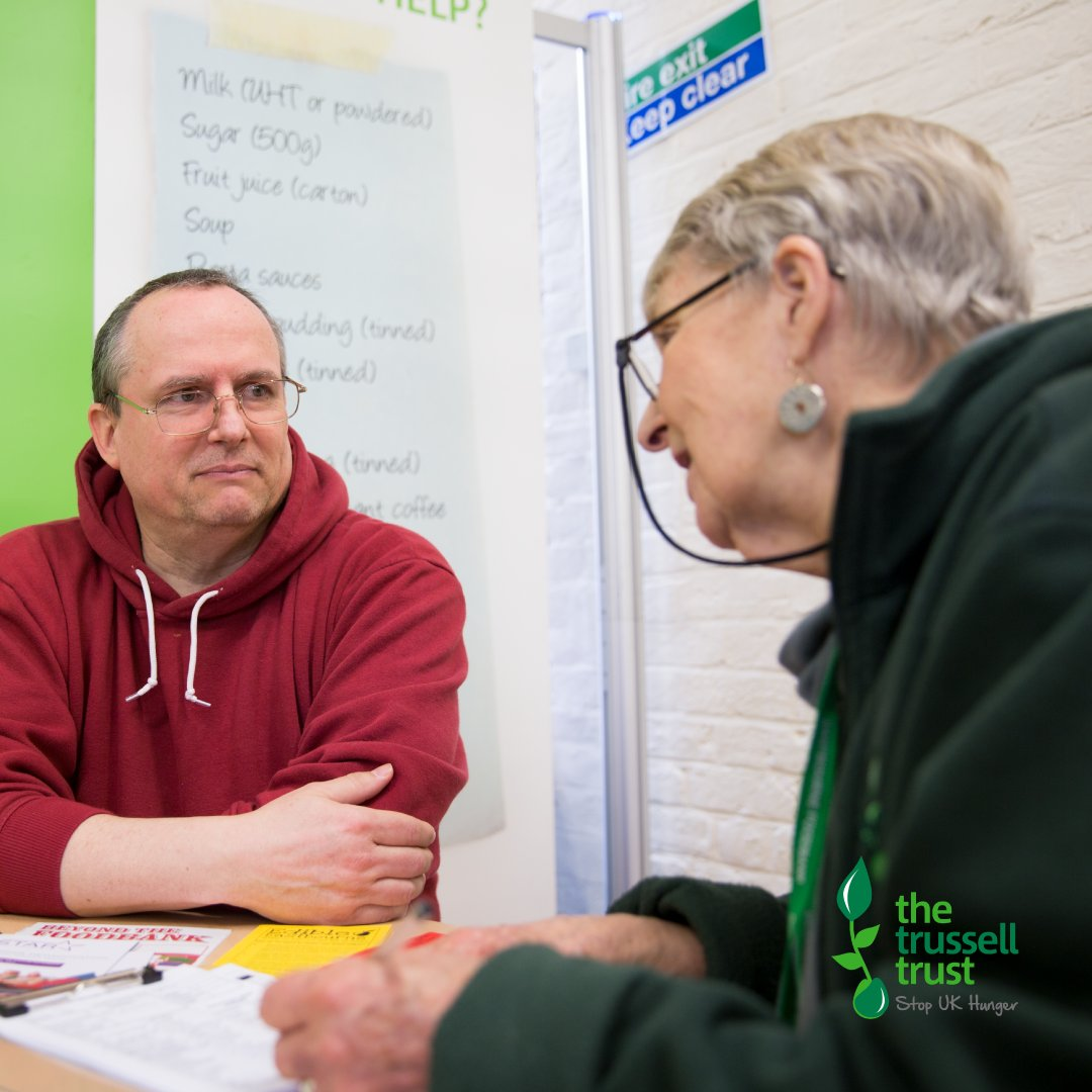 If you're currently unable to afford food, head to our website and get in touch with your local #foodbank to find out how to access support > trusselltrust.org/find-a-foodbank