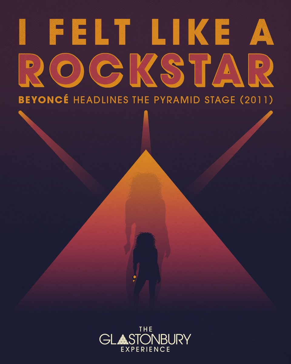 """""""I felt like a rock star, I am just so honoured. This is a highlight of my career."""" - @Beyonce  Who's ready to relive the magic of Queen Bey's 2011 headline @glastonbury set?  Watch at 10pm on @BBCTwo & @BBCiPlayer 🐝 https://t.co/nMs3jE9B84"""