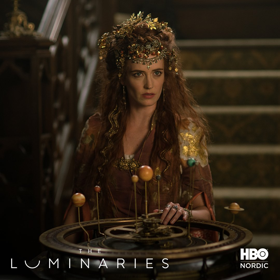 Stay golden ✨ Watch a new episode of #TheLuminaries, starring #EvaGreen, every Monday.