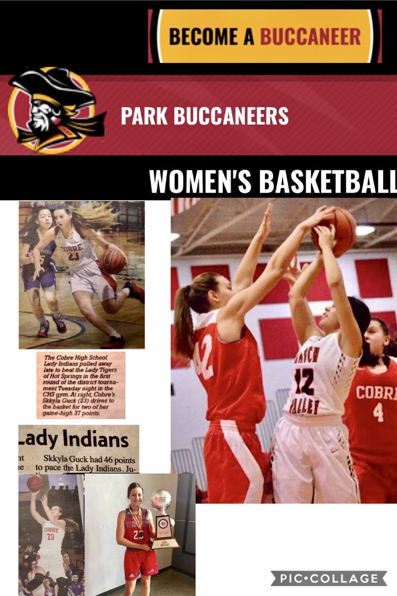So excited, @skkyla1 received an offer to play college basketball 🏀 at Park University @buccaneerswbb    @NMClippers @CobreSports @ParkBuccaneers https://t.co/KhoaddtRFu
