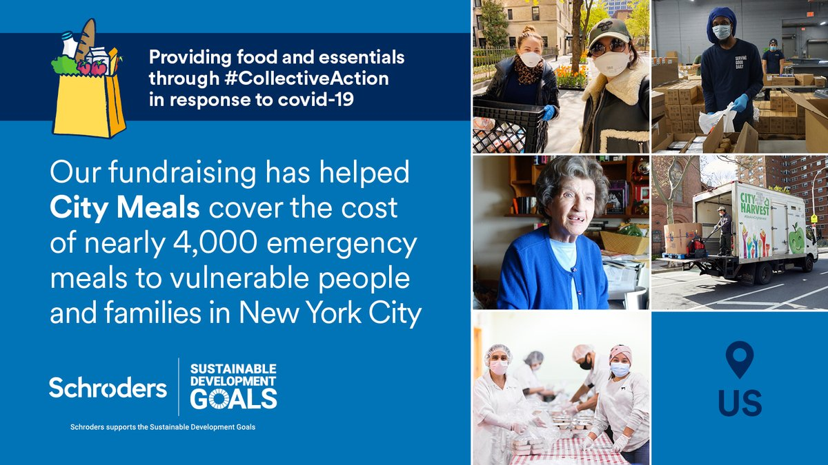 What's #CollectiveAction at Schroders? It's the power our people wield when coming together to support global charities and local communities. Read about the impact we're making in the US and the rest of the world in response to #coronavirus: https://t.co/ep6Yq1tS4l https://t.co/eVYv7xcILd