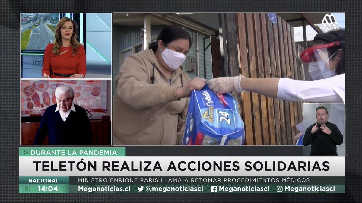 🔴 EN VIVO   ¿Cómo ha seguido trabajando Teletón a lo largo de Chile durante las cuarentenas?  Revisa la transmisión de @meganoticiascl  acá ➡ https://t.co/2jyF3qLI5N https://t.co/SQh6ziGEpx