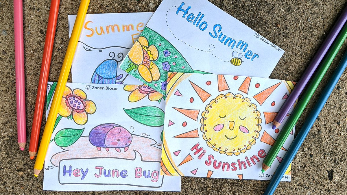 ☀️ Friday Freebie! Spread some summer cheer with these downloadable postcards.   💻 Download now  ➡️ https://t.co/mudhzpeHp0 https://t.co/4K9uVnSk7i