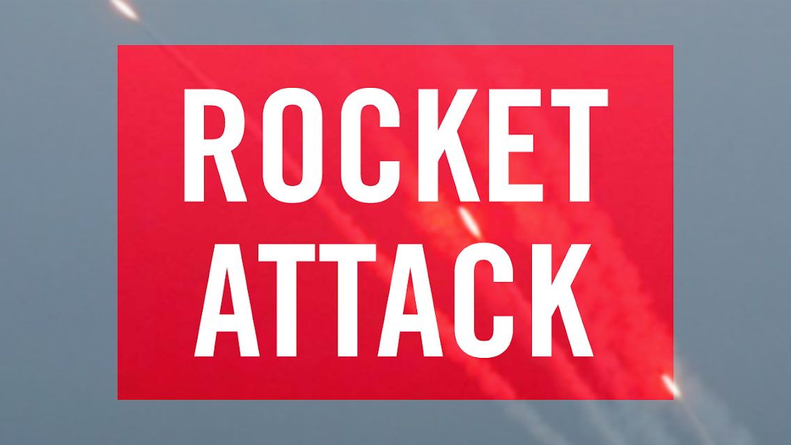 2 rockets were just fired from #Gaza at #Israel. https://t.co/iZ5nXKRADa