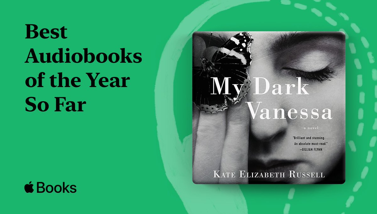 MY DARK VANESSA by Kate Elizabeth Russell and performed by @gracegummer has been named by @AppleBooks as one of the Best Audiobooks of the Year So Far! Read the list here: https://t.co/71zuvv5asS https://t.co/1tWJPKrgU9