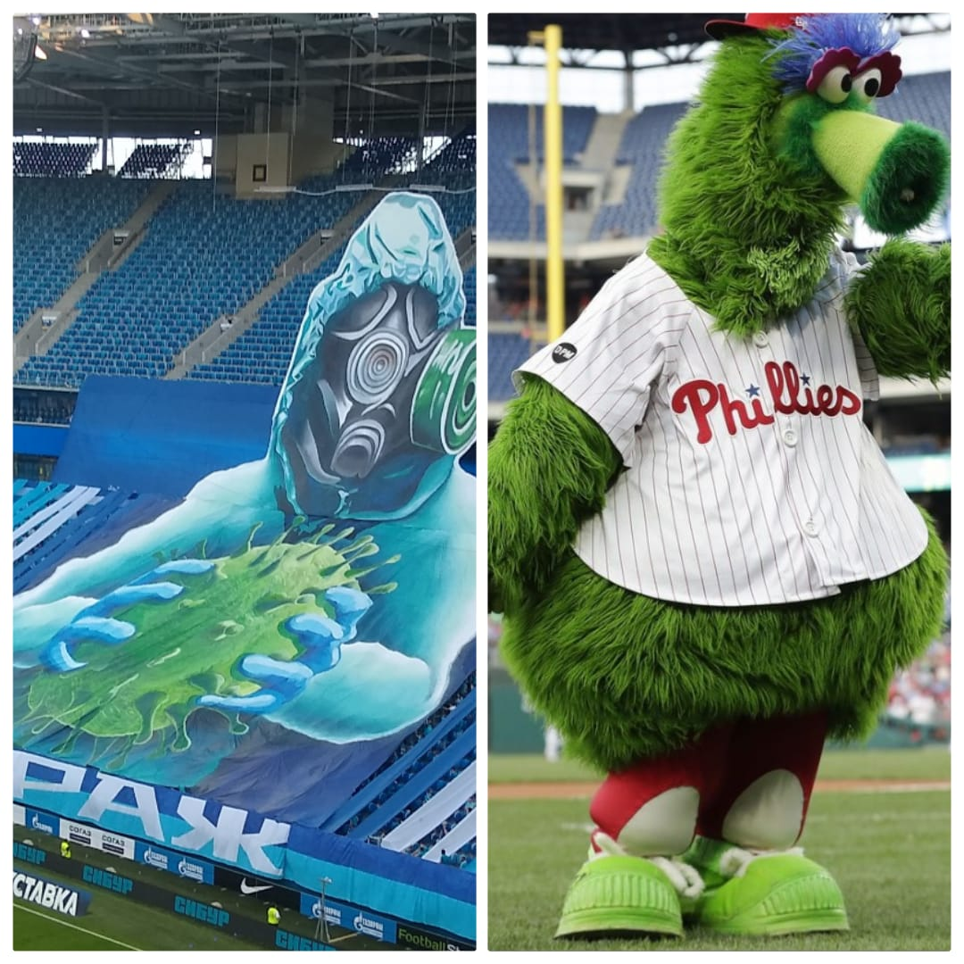 Fc Zenit In English On Twitter Hey Phillies Maybe We Could Borrow Your Mascot For Our Next Game
