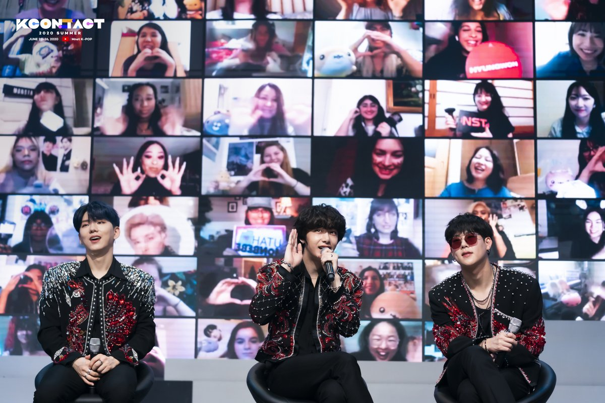 [KCON:TACT 2020 SUMMER] #MONSTAX  Reminiscing @Official_Monsta_X 's iconic appearance at #KCONTACT ... We cannot wait to have you back in the future!   #MnetKpopYouTube: http://youtube.com/Mnet  #KCON #LetsKCON #KCON247 #KCON2020pic.twitter.com/ezyuBbRDnR  by angie★☆★ | #GO生
