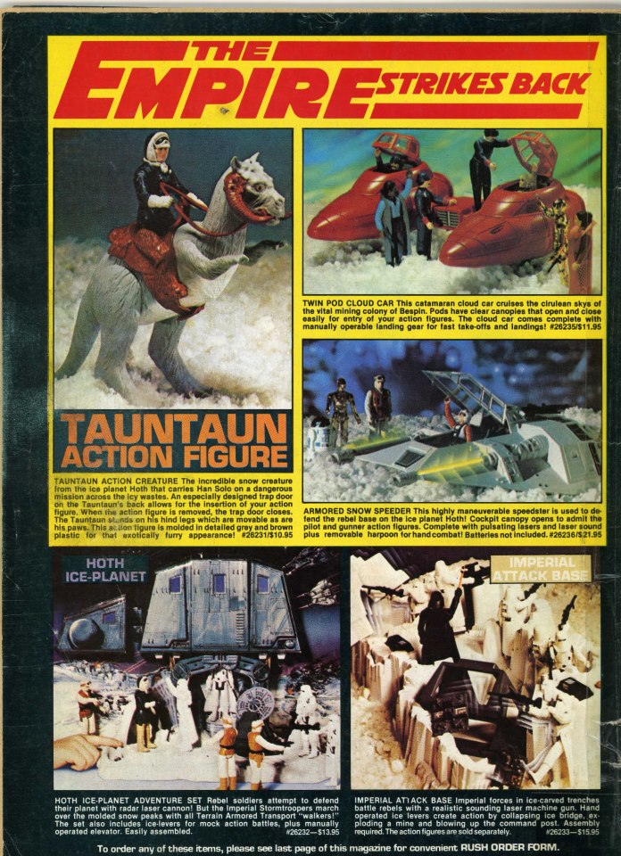 Kenner toy magazine ad #classic #starwars #theempirestrikesback #kenner #toys #actionfigurespic.twitter.com/x3tG2RDIPa