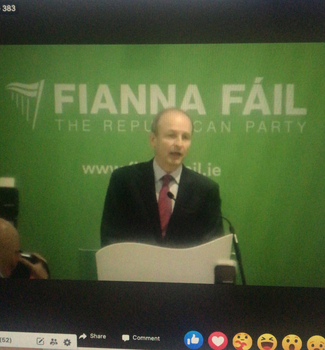 .@MichealMartinTD describes this postal vote as historic and what followed was an energetic debate.