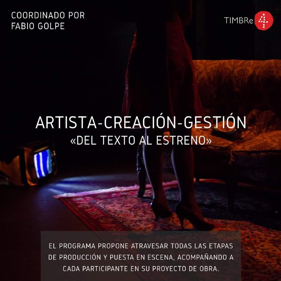📣Seminario ONLINE Artista-Creación-Gestión>Del texto al Estreno< impartido por Fabio Golpe🌞  Aprovecha este tiempo en casa para seguir indagando y descubriendo cosas nuevas💻🔥. 🔎 +INFO➡️➡️ https://t.co/j1BE3E8Z9s https://t.co/bXPUhK9406