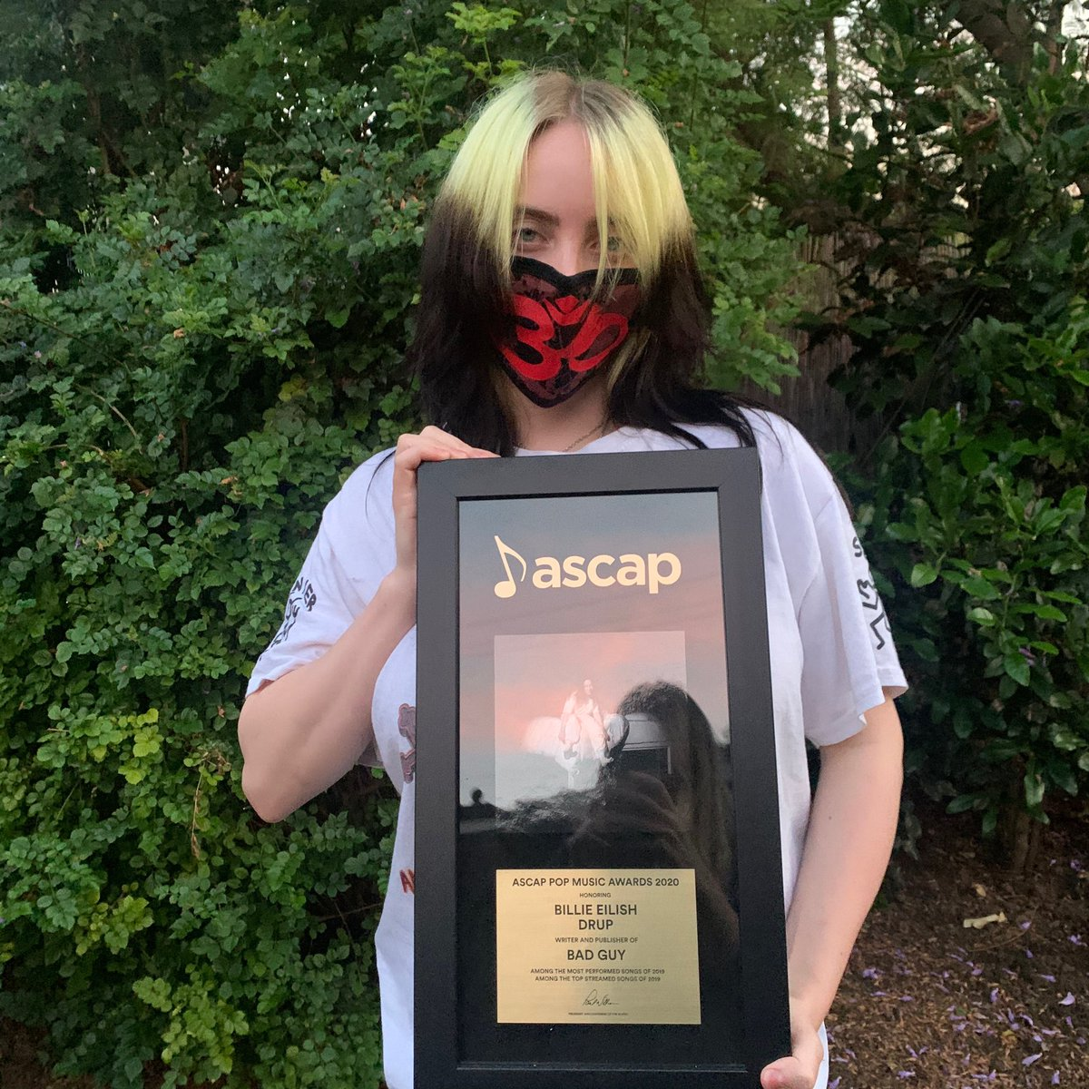 I'm the bad guy, duh   @billieeilish with her #ASCAPPop  for #BadGuy. #ASCAPAwards<br>http://pic.twitter.com/bJ0ghy2DEN