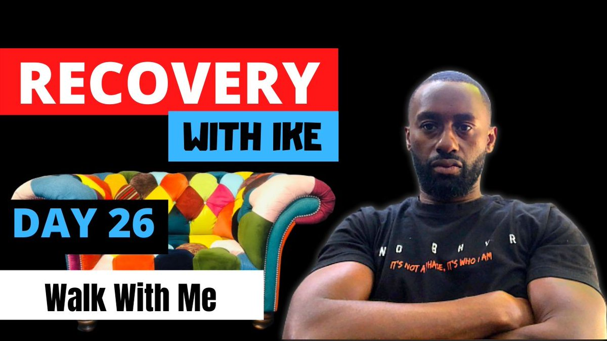 Day 26 - Walk With Me • #RecoveryWithIke.  #ChildOfGod #ChildOfGodTeam #ChildOfGodMovement #Recovery #Drugs #Alcohol #Gambling #ThankYou #Blessed #Grateful #GodBless #GodsWill #Addiction #MyStory #MyJourney #Gratitude #Support #ReachOut #GetInTouch  https://t.co/8ha0te3Fub https://t.co/F05p17ydtY