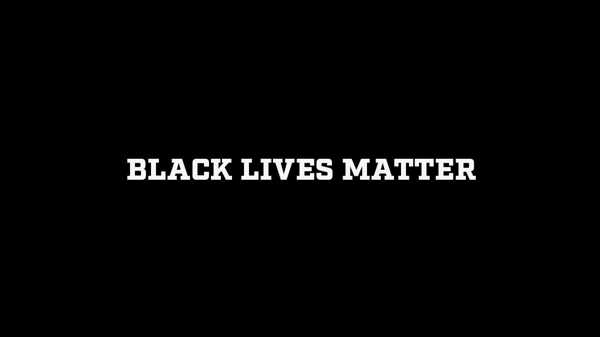 Black Lives Matter https://t.co/p14w8PFdhY