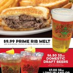 Fridays are better with our FAMOUS $9.99 Prime Rib Melt! 😋 Plus, $7 32oz Long Island or Long Beach Ice Teas, & $6.50 32oz Domestic Draft Beers! 𝗔𝗟𝗟 𝗟𝗢𝗖𝗔𝗧𝗜𝗢𝗡𝗦 𝗡𝗢𝗪 𝗢𝗣𝗘𝗡 𝗨𝗡𝗧𝗜𝗟 𝟭𝟭𝗣𝗠 𝗗𝗔𝗜𝗟𝗬! Dine-in or carry out here: https://t.co/duqkoKx1Ac
