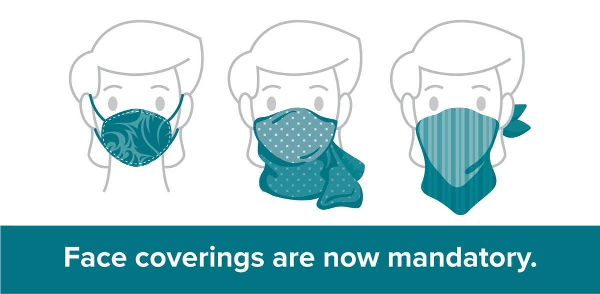 test Twitter Media - Face coverings are now mandatory in all commercial settings. Find out what it all means at https://t.co/lZiWI9QkRh #COVID19KFLA https://t.co/1I6sXwgDB9