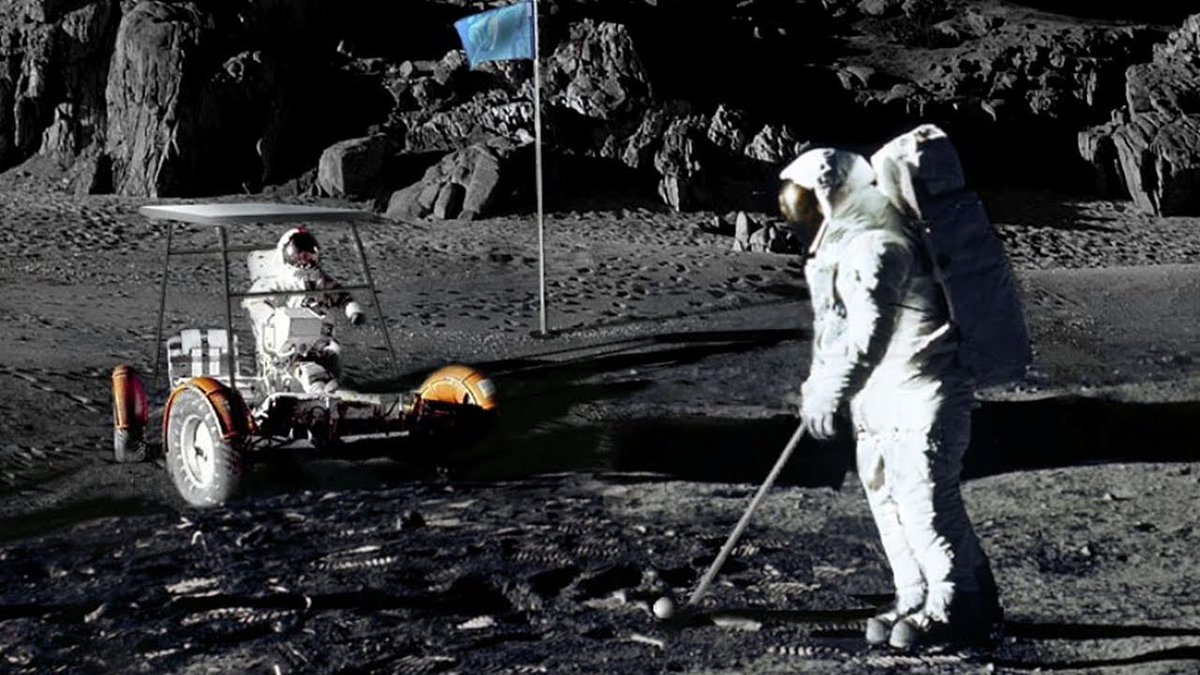 """PAADS- Assoc of Athlete Development Specialists on Twitter: """"Here we go!  PAADS #funfactfriday Golf is the only sport to be played on the moon. Alan  Shepard played golf on the mood in"""