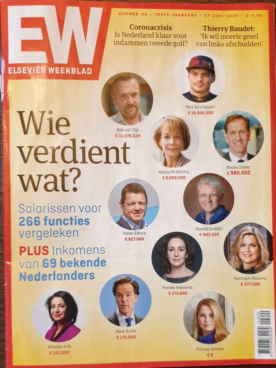 Toch raar dat de burgemeester van Amsterdam meer verdient dan de premier. Geef mij één goede reden. https://t.co/LEvlZCa9Gm
