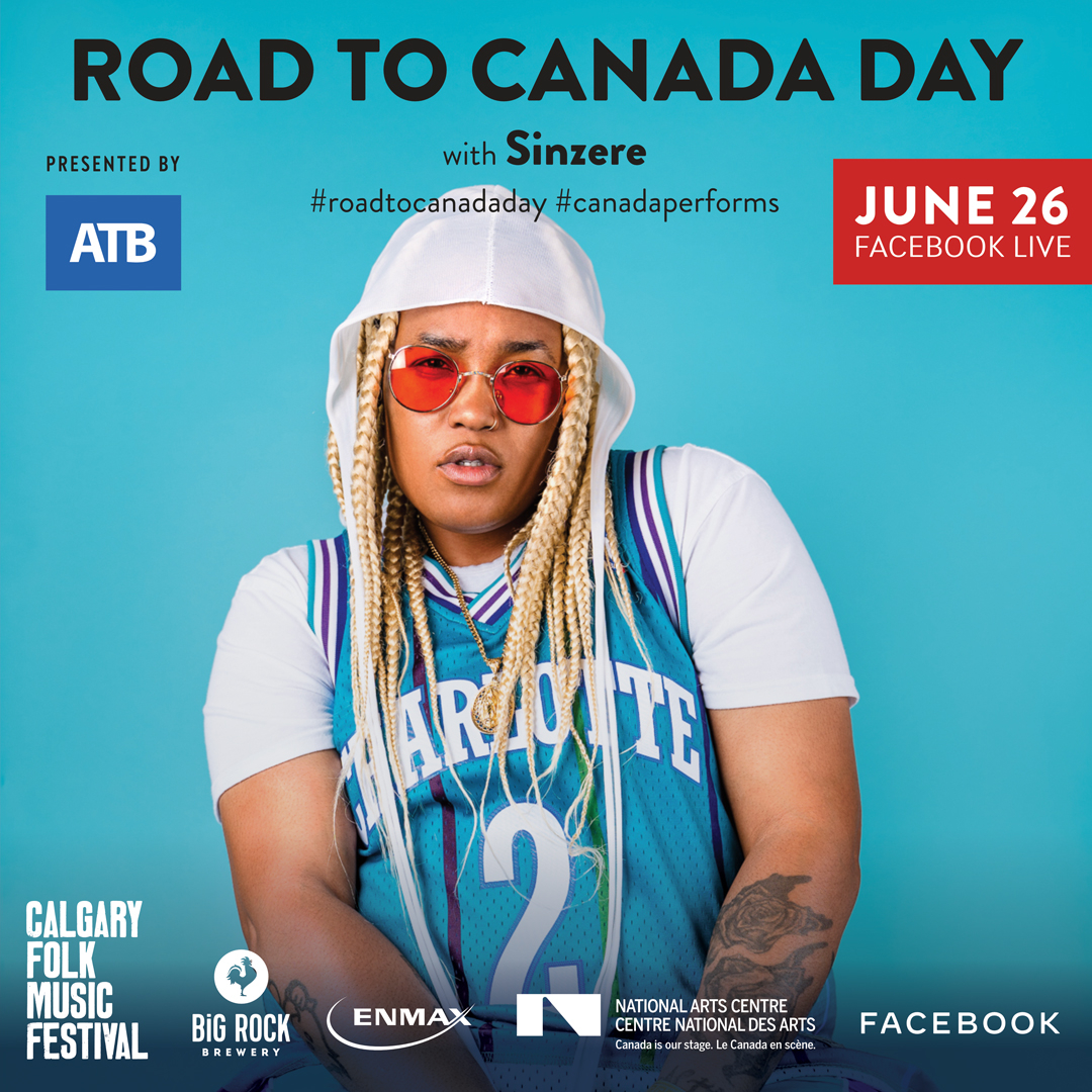 Join us over on Facebook Live at 7:30 PM (MT) for beats and truths from Calgary's own @SinzereOfficial as part of @CanadasNAC #roadtocanadaday!  Presented by @atbfinancial with support from @bigrockbrewery and @ENMAX  https://t.co/Lg0sRxR7oY https://t.co/vw276lGb5f