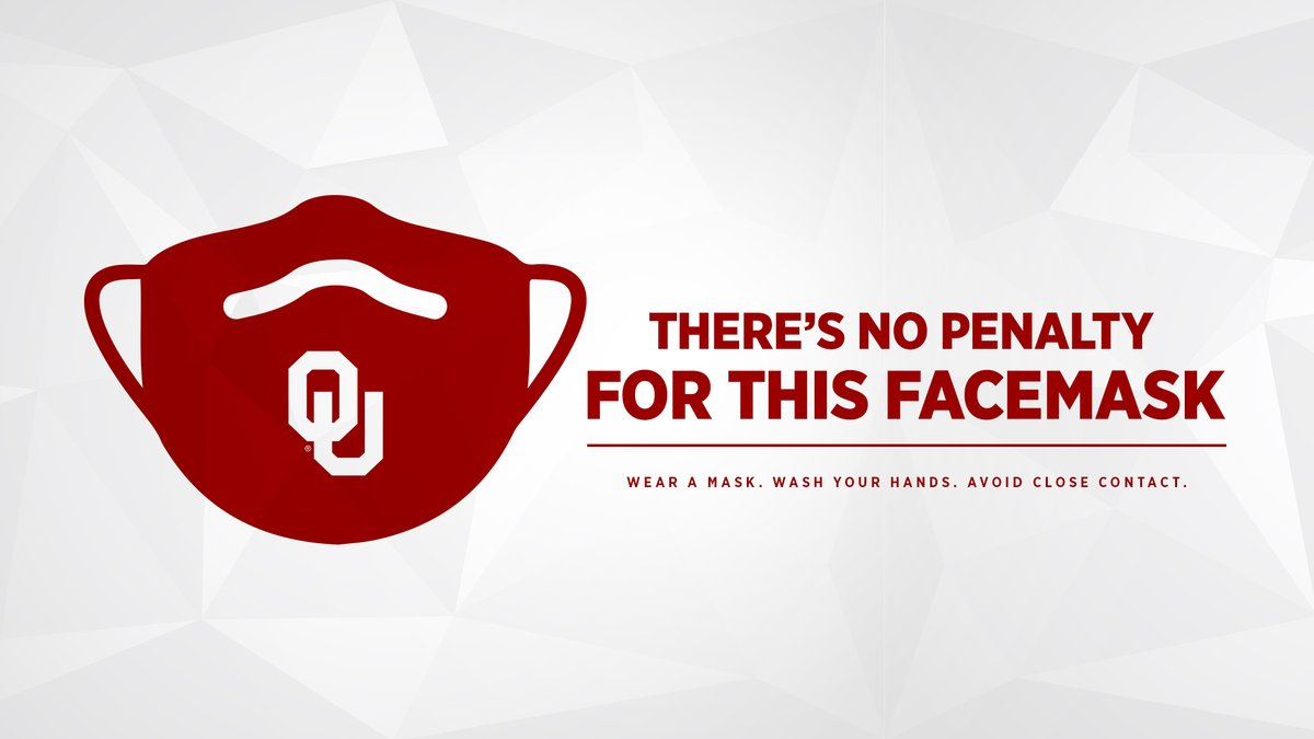 Let's all do our part. #MaskUp😷 #BoomerSooner