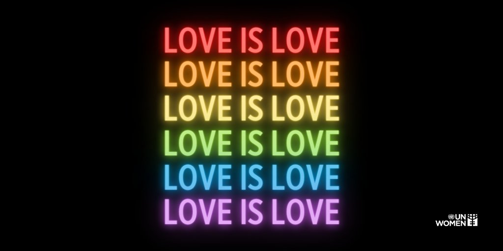 June is #PrideMonth and we have something to say. Love is Love!