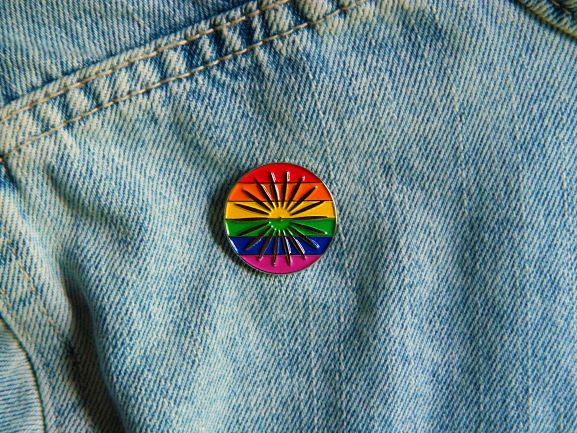 We are proud to debut the Terrace Pride Pin! Half of the proceeds from each sale of this limited-edition pin will be donated to the Gender and Sexuality Campus Center Fund. To learn more about GSCC and purchase a pin, visit bit.ly/2CHkgU5. #happypride #pridemonth