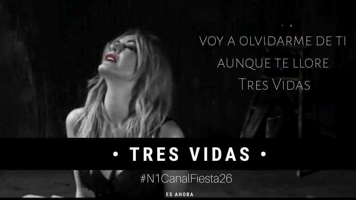 Seguimos votando para que @MercheOficial y #TresVidas vuelvan al N1 de @canalfiesta #N1CanalFiesta26 @dominguezja #EsAhora #FelizSabado #FelizFinde #BuenosDias https://t.co/FU1LkPTqSB https://t.co/dzAvqIvEpy