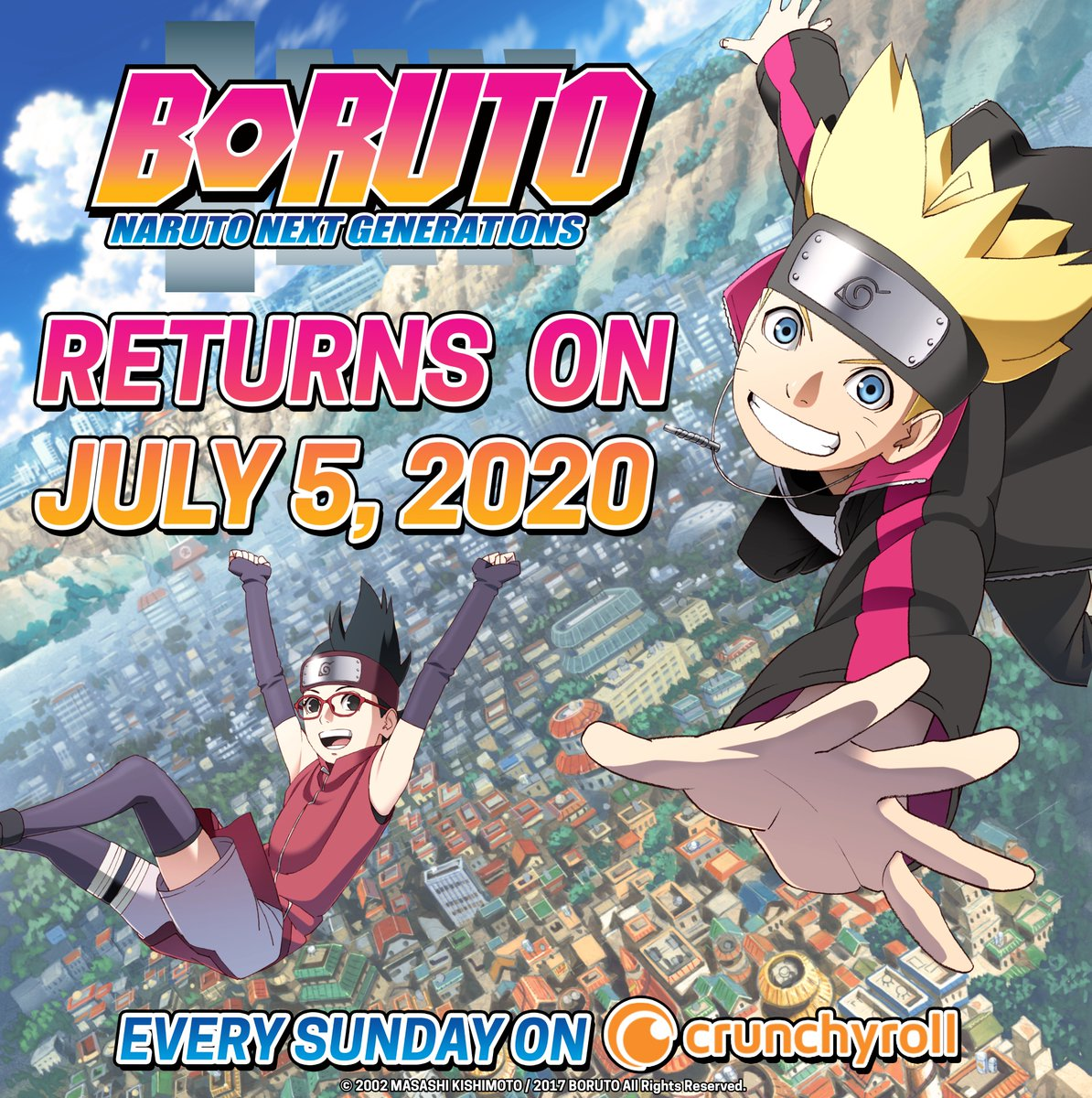 test ツイッターメディア - NEW EPISODES OF BORUTO START JULY 5th!⚡️ More: https://t.co/vIWSTzhOb8 https://t.co/FlGqHNBLfP