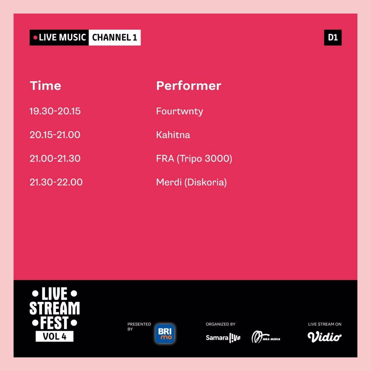 Mau tau siapa aja musisi, content creator, hingga komika yang ada di Live Stream Fest Vol. 4?   Mau tau info lengkapnya? Kunjungi https://t.co/u0VjhcOgWI  #MulaiLagi #LiveStreamFest #LoginKeseruanmu #CovidSafeBUMN https://t.co/PiK8DYG8P6