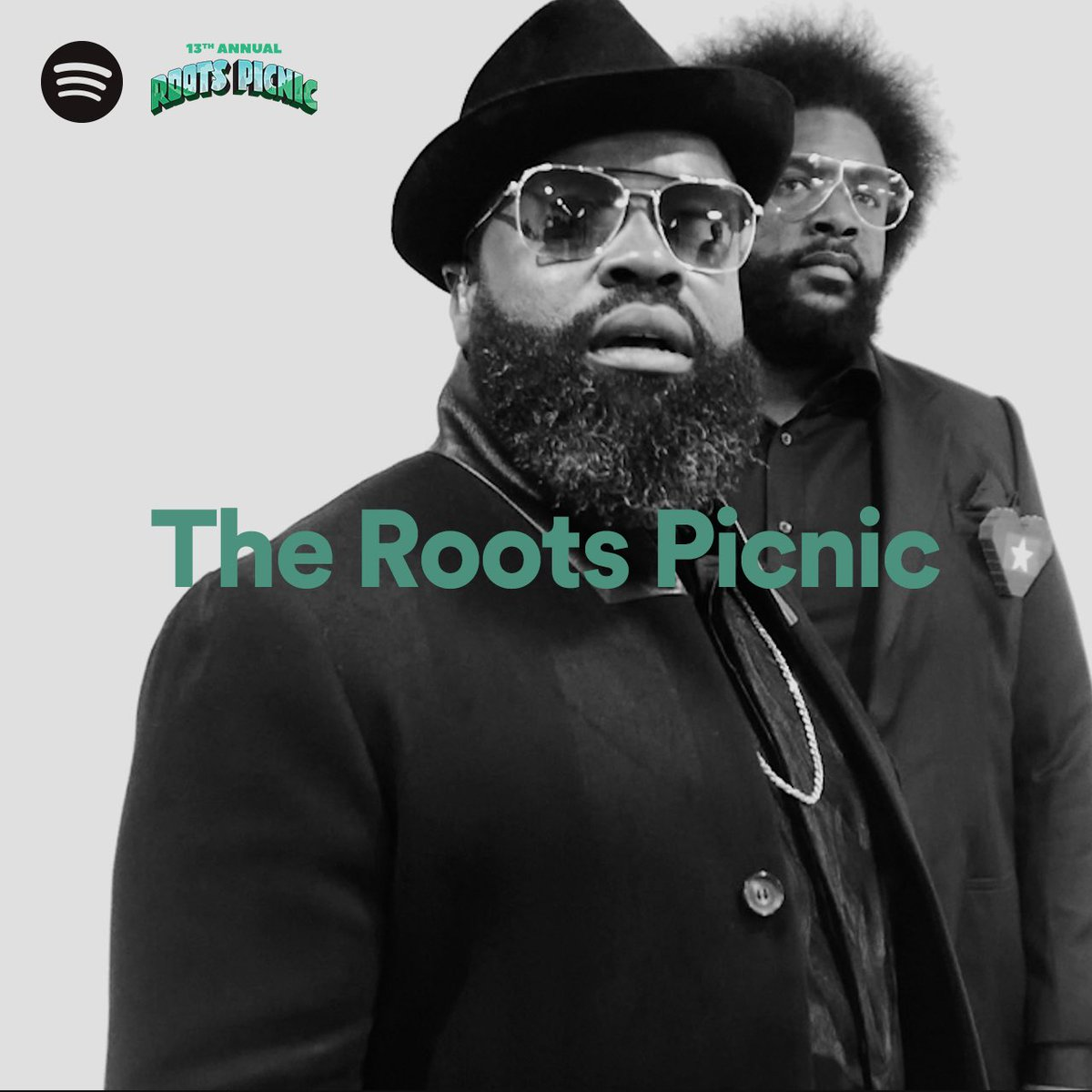 BONG! BONG!  It's the official #RootsPicnic 2020 @Spotify playlist featuring music from some of your favorite @RootsPicnic Virtual Experience performers, happening THIS Saturday June 27 at 8pm EST/5pm PST. Be sure to tune in and press play! 🎧▶️➡️ https://t.co/Kfx97bAA48! https://t.co/vnXaA4miZv