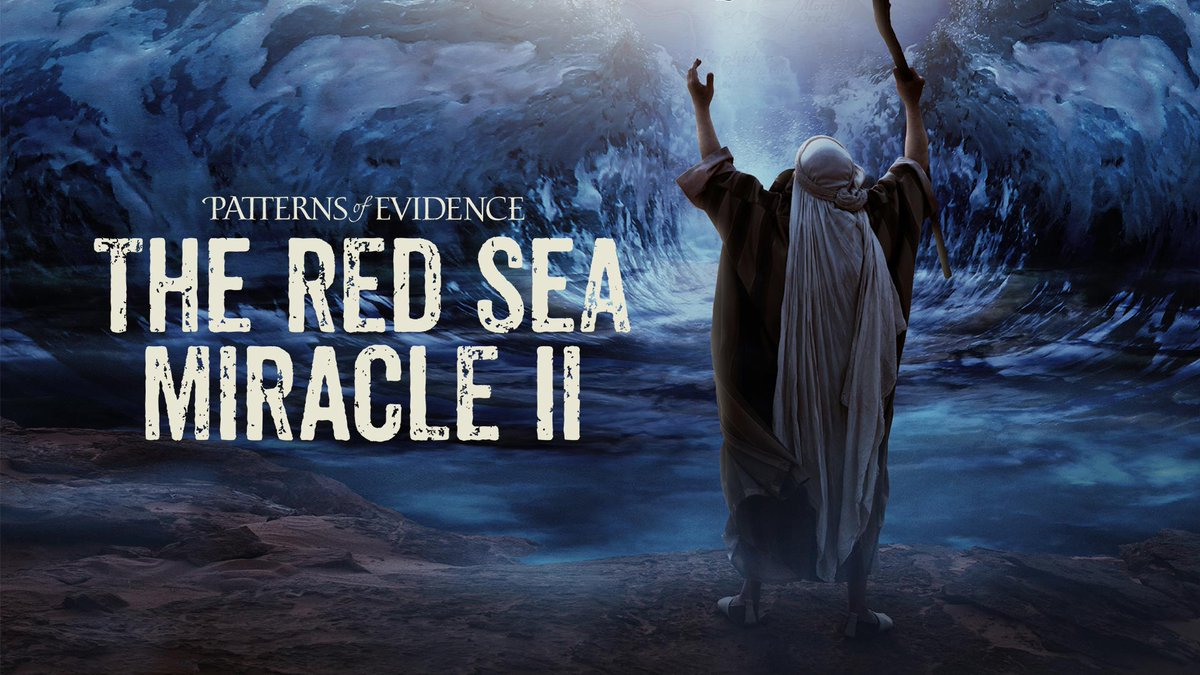The Red Sea Miracle Digital Patterns Of Evidence