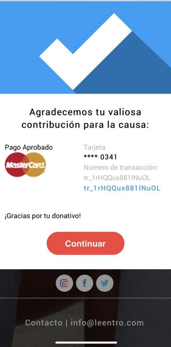 @leentromx Yo le entro con mi donativo. ¿Y tú? ¡Éntrale! Con @LorenaOchoaR  En https://t.co/0XQ7IWgCc7  GRAN CAMPAÑA, juntos vamos a poder ayudar a muchos niños.  HAZ CLICK y dona a partir de 100 pesos 🙏 FernandaF https://t.co/HSHXiWtnPL