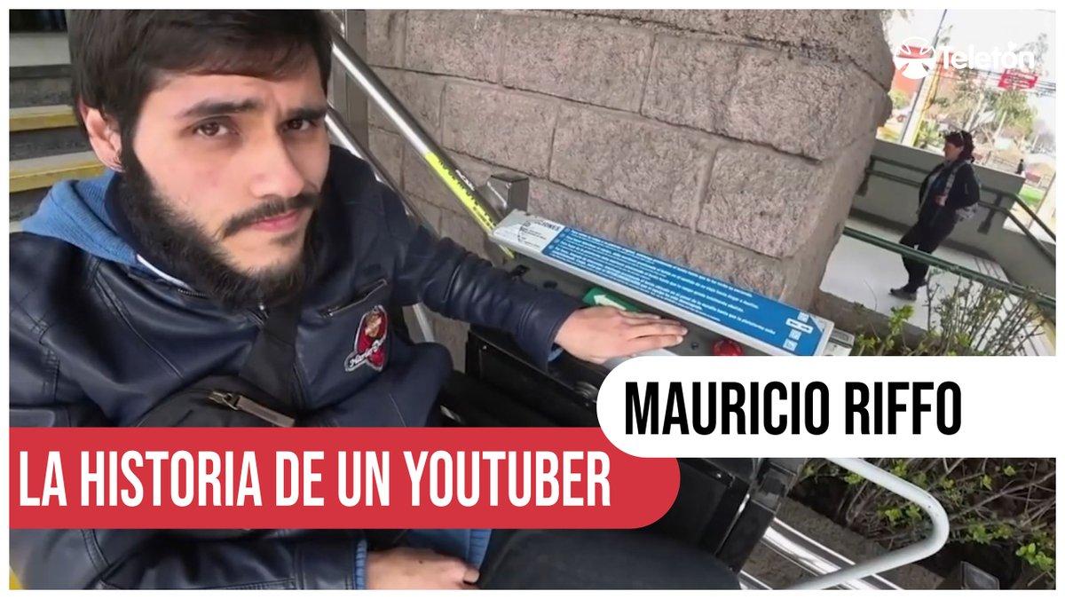 Revive el reportaje de Mauricio Riffo, el rey de Youtube, nuestro Teniente Dan.   Una historia con gran sentido del humor, pero con un potente mensaje por la inclusión 💪   ▶ https://t.co/tVbpdvhXrF https://t.co/Tx8e5hJWr1