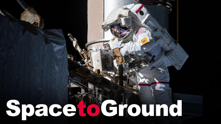 All in a weeks work! Two of our @NASA_Astronauts performed a spacewalk to upgrade the @Space_Stations power systems and @Astro_SEAL captured stunning images of an annular solar eclipse. Watch #SpaceToGround for more: go.nasa.gov/2NzaDsN