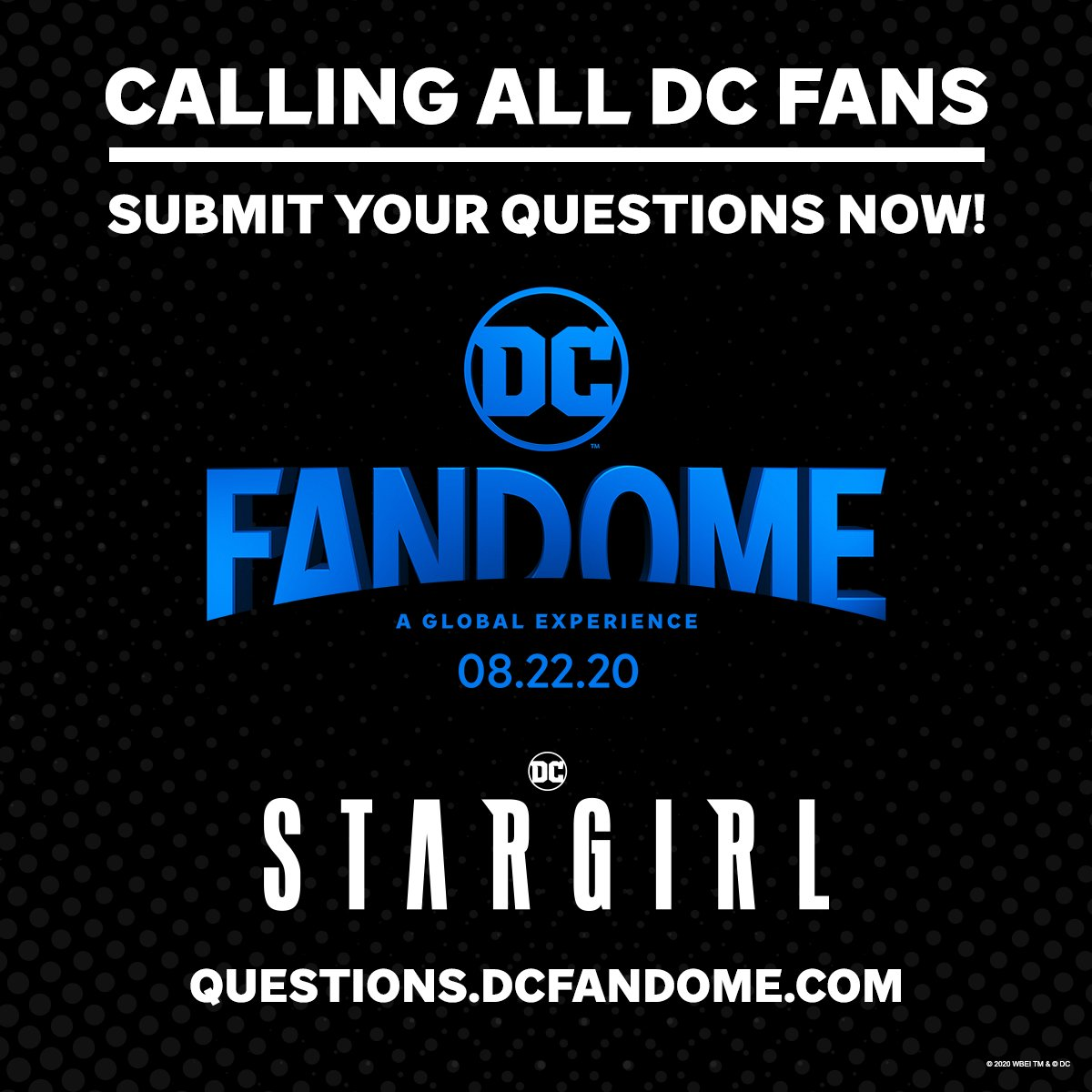 You've got questions! We've got answers. Submit your questions now about the DC Multiverse, and see if they're answered during #DCFanDome: https://t.co/6xpmtvLZSI https://t.co/LKnqlHjVkp
