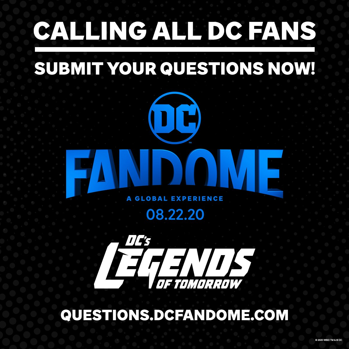 You've got questions! We've got answers. Submit your questions now about the DC Multiverse, and see if they're answered during #DCFanDome: https://t.co/aH1eNfHwaq https://t.co/CPE8YZwSAc
