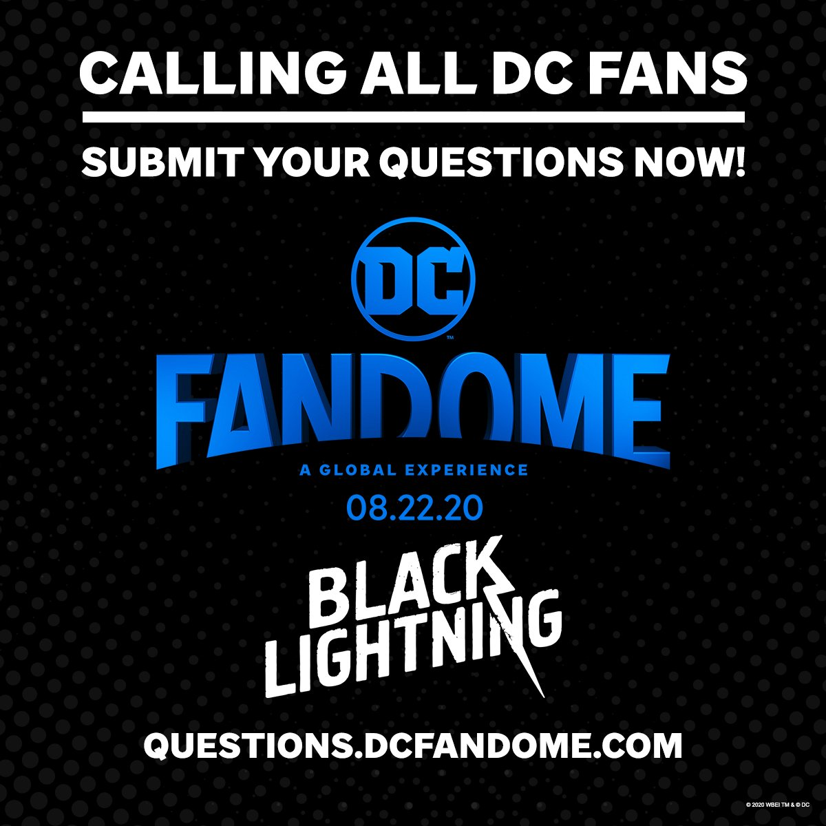 You've got questions! We've got answers. Submit your questions now about the DC Multiverse, and see if they're answered during #DCFanDome: https://t.co/ChlMEApKOU https://t.co/fxC1EptLdI