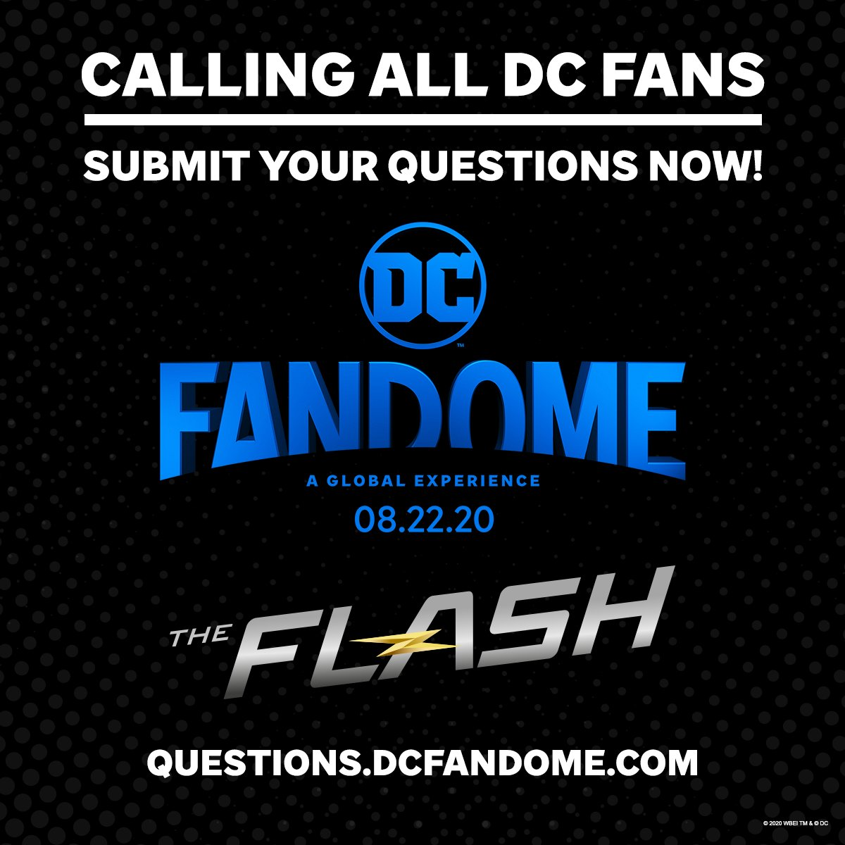 You've got questions! We've got answers. Submit your questions now about the DC Multiverse, and see if they're answered during #DCFanDome: questions.dcfandome.com