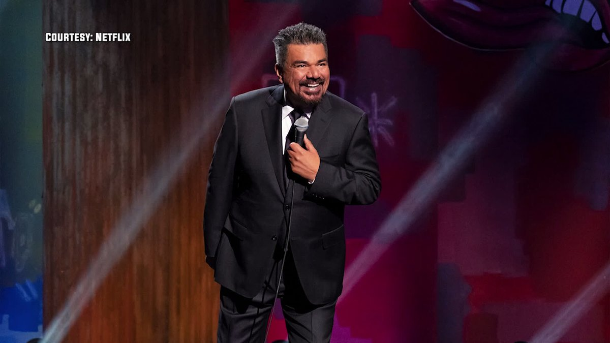 Talked to the always hilarious @GeorgeLopez about his new #Netflix comedy special and the endless list of famous people hes met along his storied career: