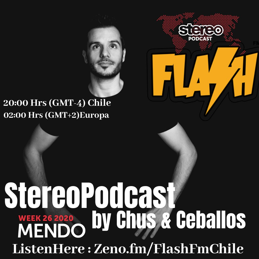 #StereoProductionsPodcast by @chusceballos #NowPlaying #OnAirNow #Envivo #viñadelmar #Chile #House,#Techno,#DeepHouse,#TechHouse  #ListenHere #EscuchanosEnVivoAqui @FlashFmCl : https://t.co/a4fnARI5RO https://t.co/on6GeRb335