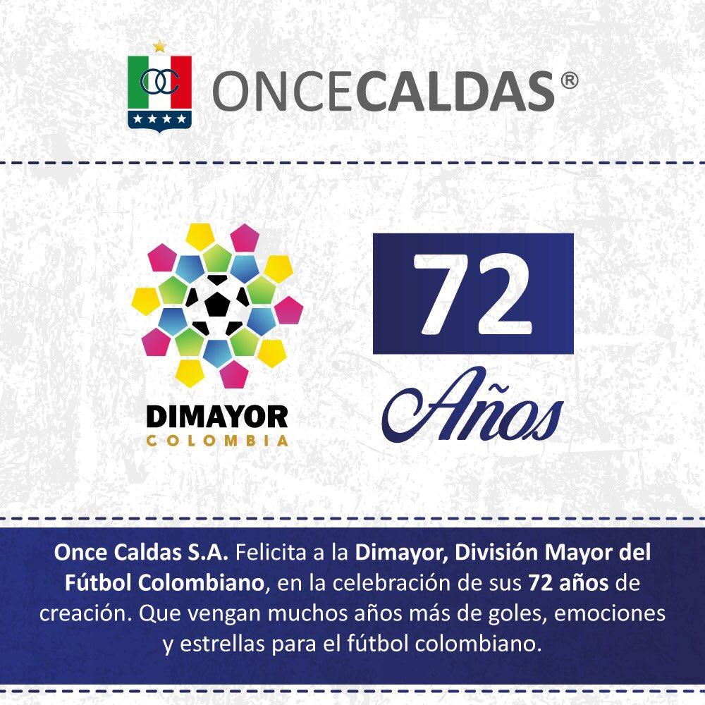 Felicitaciones a la @Dimayor en su aniversario 72. https://t.co/IL2xmDxxpp