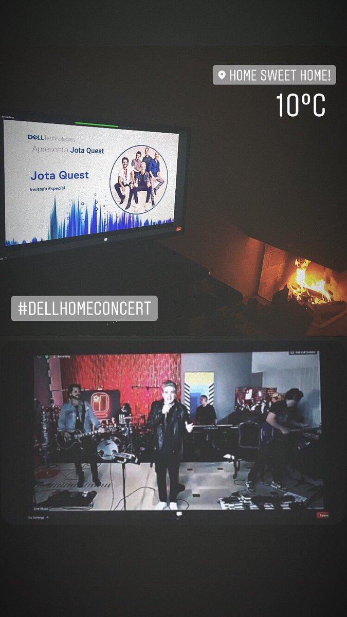 Thank you Dell Technologies! 🥰 #dellhomeconcert #Iwork4Dell #jotaquestlive #staysafestayhome https://t.co/3wns58J7sC