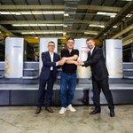 Image for the Tweet beginning: Heidelberg Shanghai production site successfully