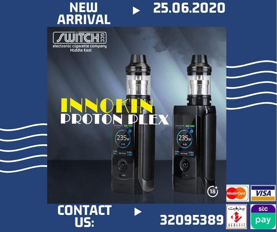 🔞🔞🔞 INNOKIN PROTON PLEX 🚘🚘🚘 Free Delivery All Bahrain🚘🚘🚘 Smoking is injurious to health. Stop smoking and start vaping. Dial 📞32095389 for further information. #Vape #eciggrate #bahrain #smoke #switch #vaping #Bahrainstore #Bahrainmarket #Bahrani #bahrainvape #Bahrain https://t.co/UxLOkHNywe