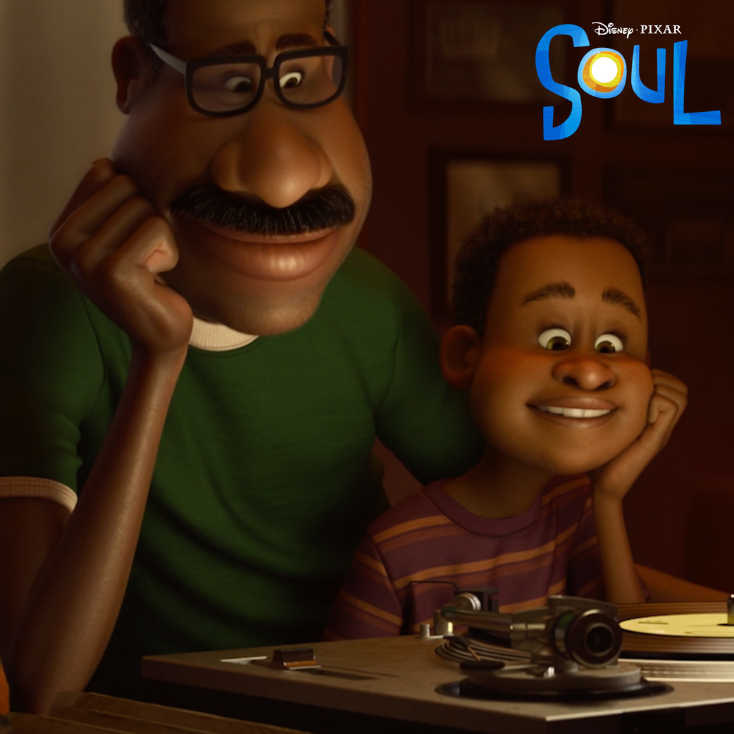 """Watch a sneak peek from #PixarSoul; a story about finding the real, the brilliant, the passionate you, featuring the song """"Parting Ways"""" written, produced, & performed by Cody ChesnuTT."""