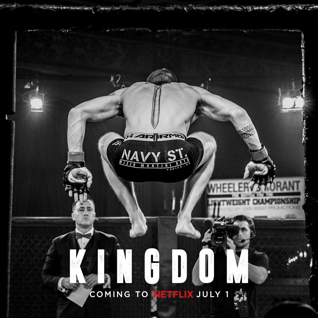 Kingdom. All seasons. Netflix. July 1 https://t.co/RG3OTi9Lkp