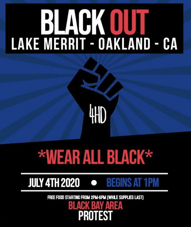 Black Out @ Lake Merritt