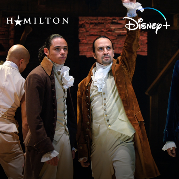 This Friday, the phenomenon comes exclusively to #DisneyPlus. See Hamilton streaming July 3. ⭐️ #Hamilfilm