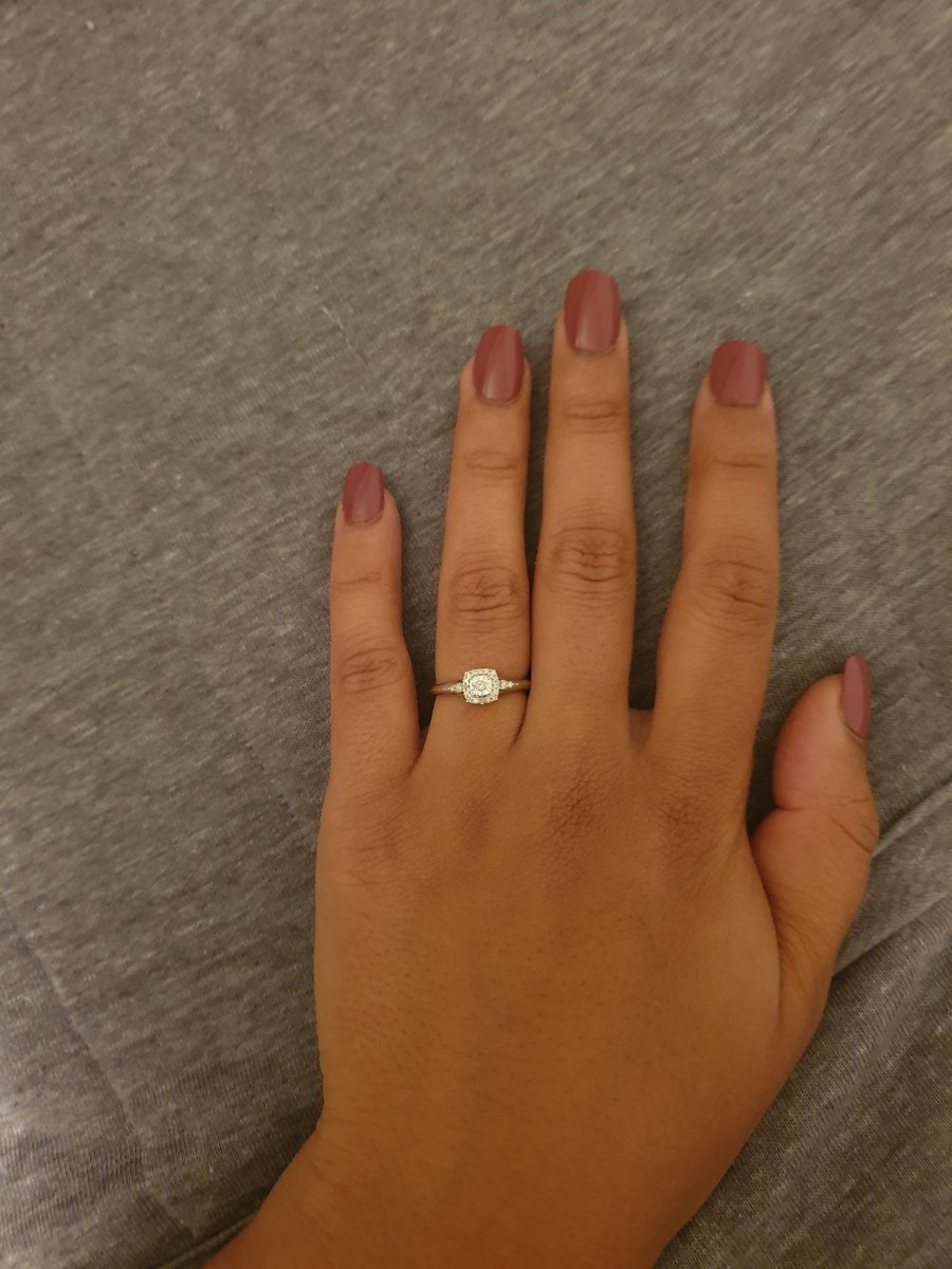 I might not have slept a wink in the last 2 days and I don't even know what day it is anymore but I've never been so sure of anything in my life - of course I said Yes!    What fine timing  #ISAIDYES #ENGAGED #YNWA #19pic.twitter.com/OikH74SeBm
