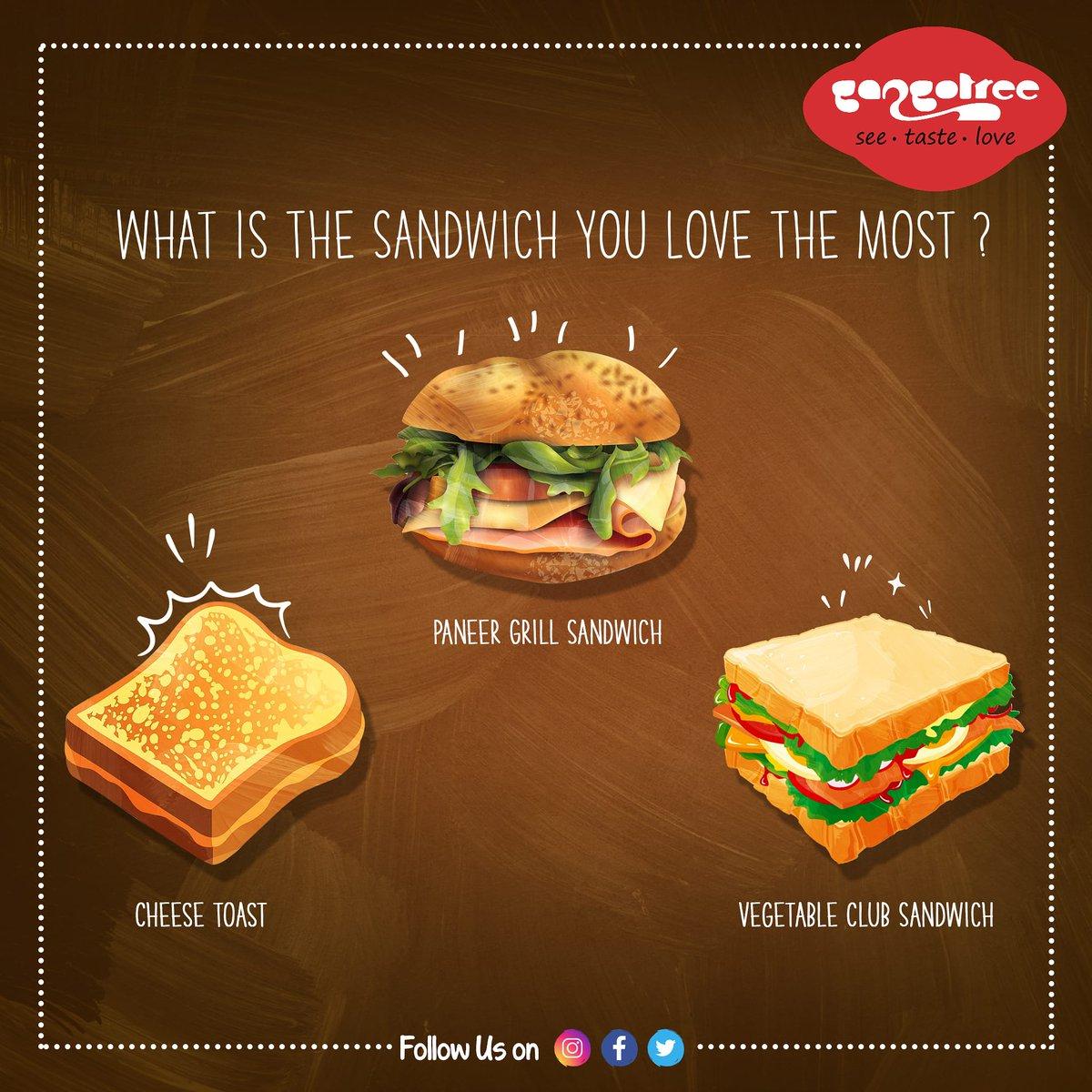 Which one you loved the most?   Call us 98848-84444 | @GangotreeSweets  We are available on Swiggy!  #ThinkGangotree #sandwich #Cravings #chennaibloggers #chennaiexpress #chennaifoodie #soChennai #WhereChennaiEats #tasty #foodtalkindia #eeeeeats #foodstagram #eveningsnackspic.twitter.com/h2jSrQQxrM