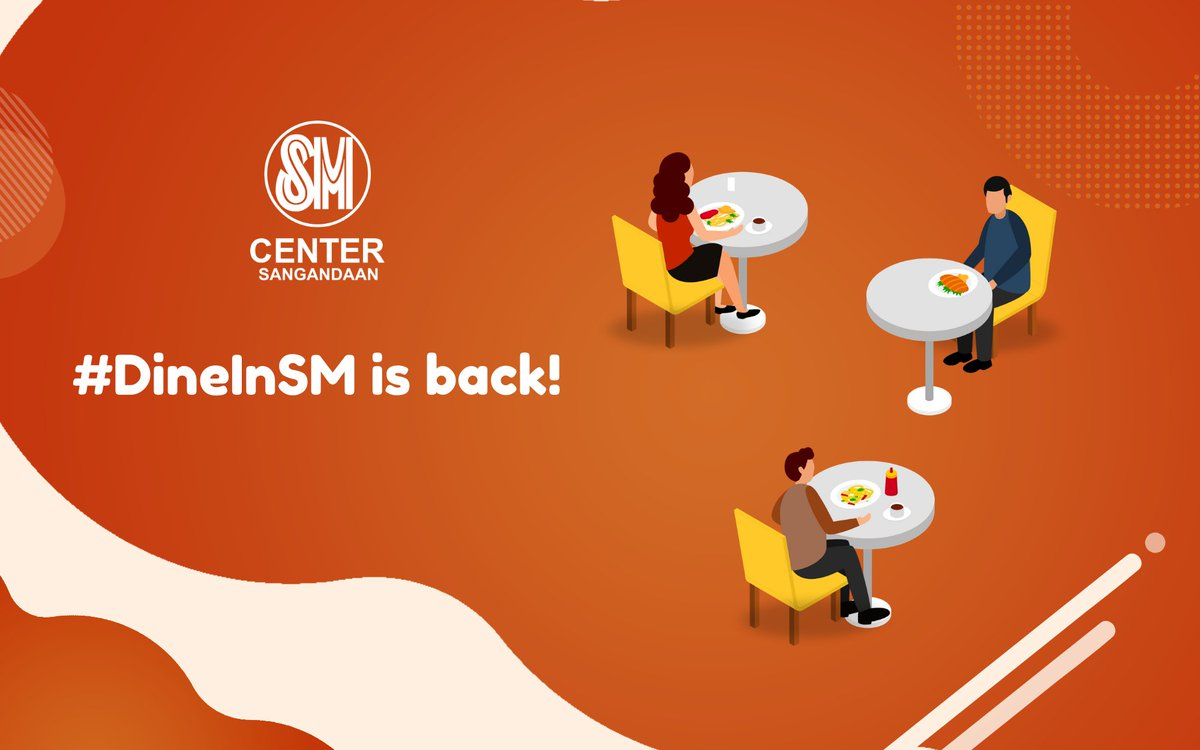 #DineInSM is back ❤️. Your dine-in favorites are now open to serve you safely! Click link below for menu guide and store contact details: https://t.co/QRx47weoMK https://t.co/bm1CnuHgQe